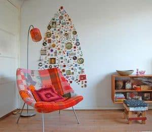 8 idej za doma izdelano božično drevo